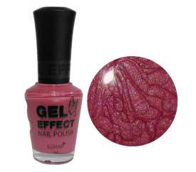 Cherry Pearl Gel Effect Nail Polish (15ml)