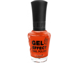 Orange Gel Effect Nail Polish (15ml)