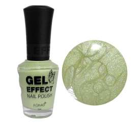 Green Pearl Gel Effect Nail Polish (15ml)