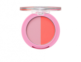 One Touch Duo Blusher 02 Pink Indian Dancing