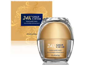 24K Gold Caviar Luxury Gold Cream
