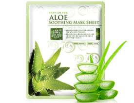 Aloe Soothing Mask Sheet (Pack of 10 Pcs)