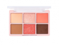 One shot Eye Palette(Adorable Coral)SPRING EDITION