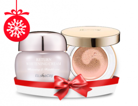 Return Whitening Cream + Pink Blooming CC Cushion