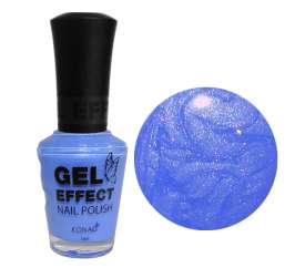 Blue Pearl Gel Effect Nail Polish (15ml)